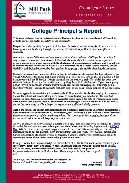 MPSC Newsletter No 14 - 3 September 2021